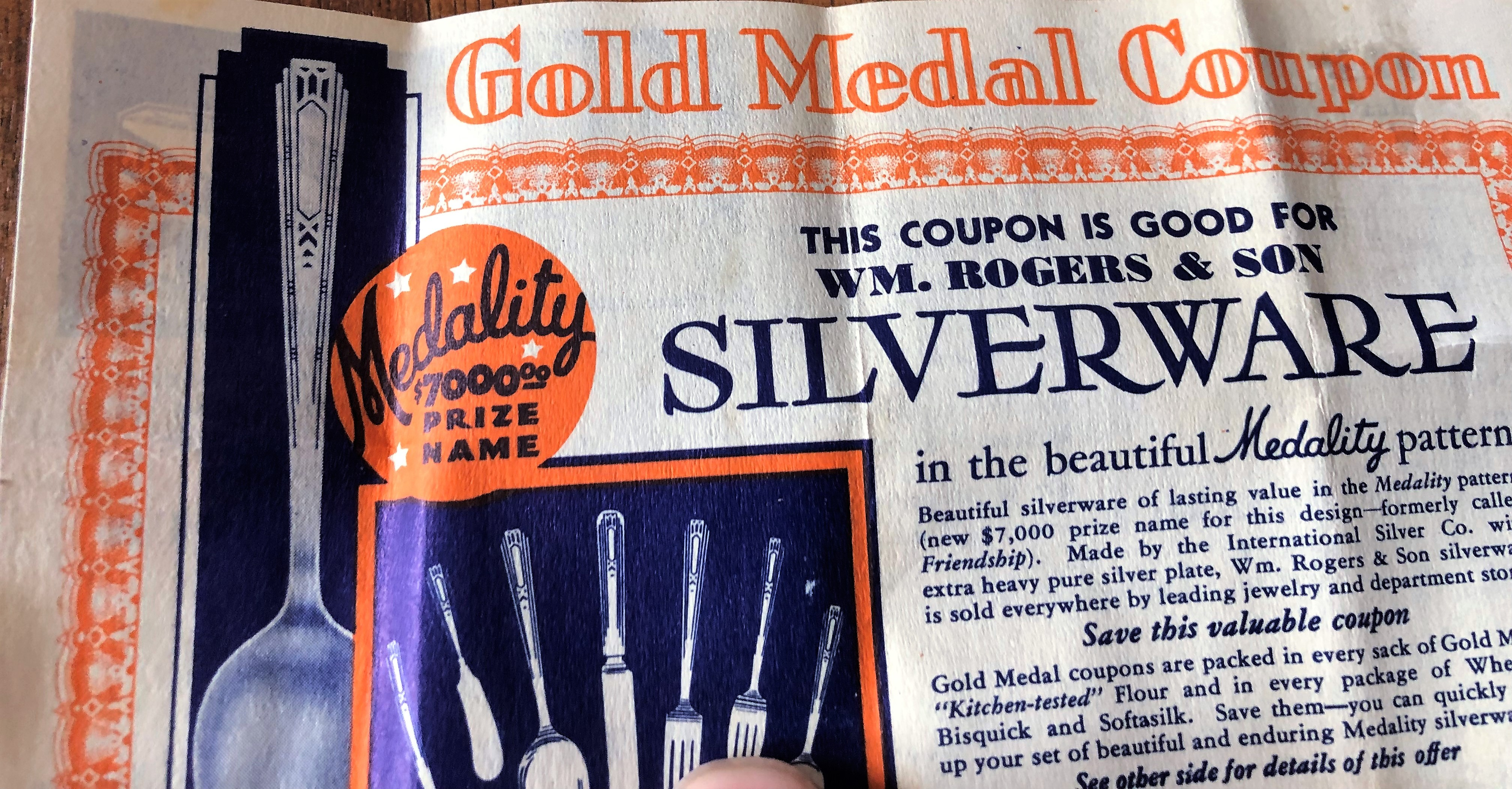 A coupon from Gold Medal Flour