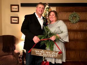 Matt and Susan eloped