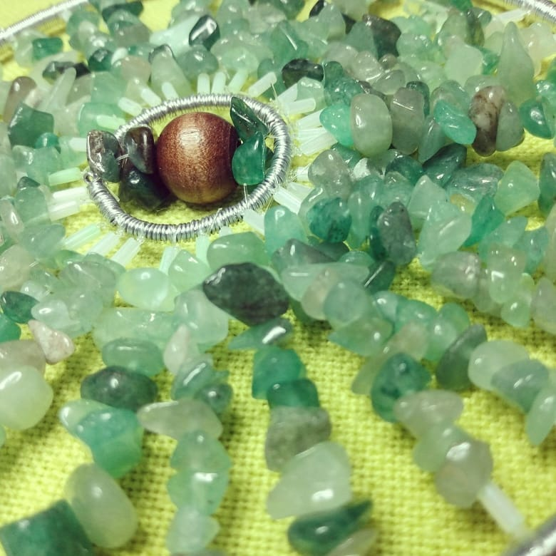 Green Aventurine Sun Catcher