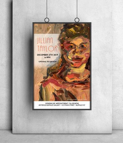 Jillian Taylor Gallery Showing Poster