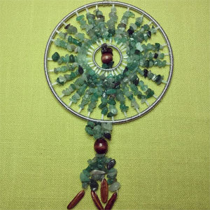 Aventurine Sun Catcher