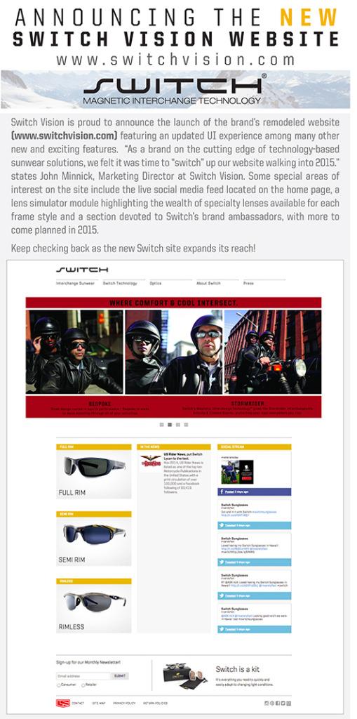new website announce