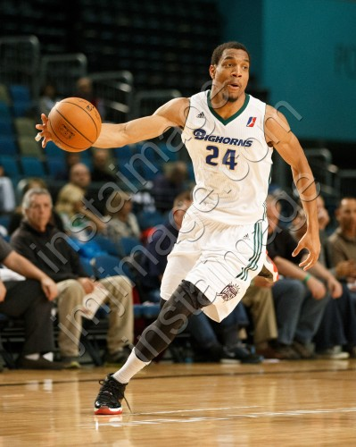 Reno Bighorn Forward VINCE HUNTER (24)