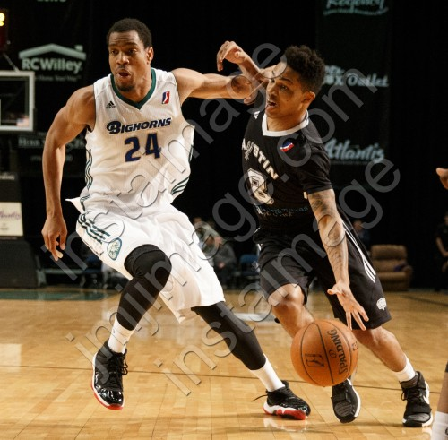 Austin Spurs Guard KEIFER SYKES (8)
