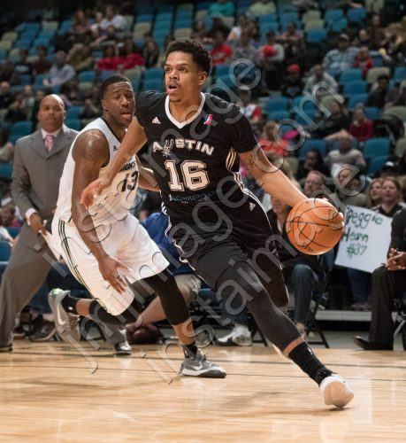 Austin Spurs Forward JARELL EDDIE (16)