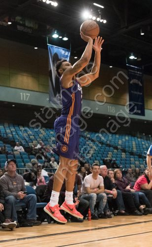 Northern Arizona Suns Guard XAVIER SILAS (13)