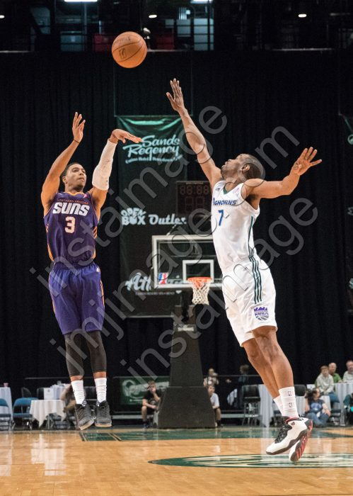Northern Arizona Suns Guard SHAQUILLE HARRISON (3)