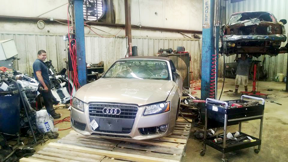 Audi convertible for inventory