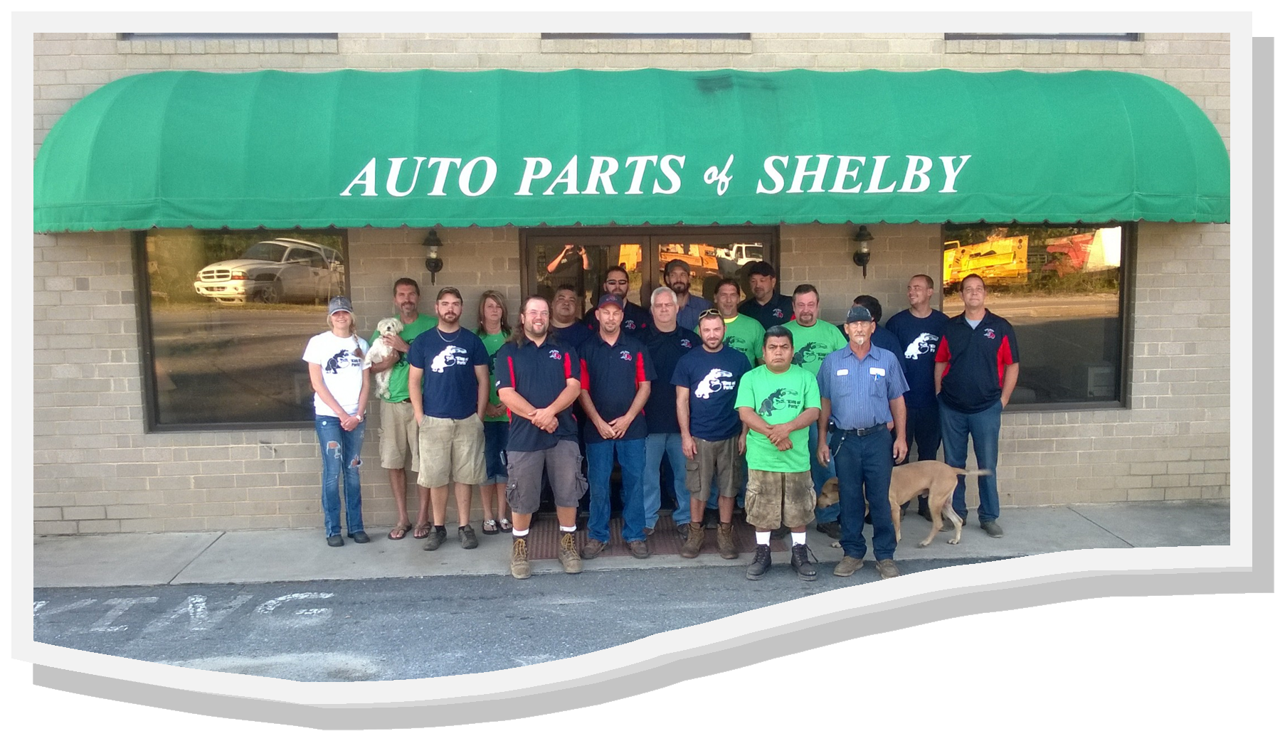 Auto Parts of Shelby Crew