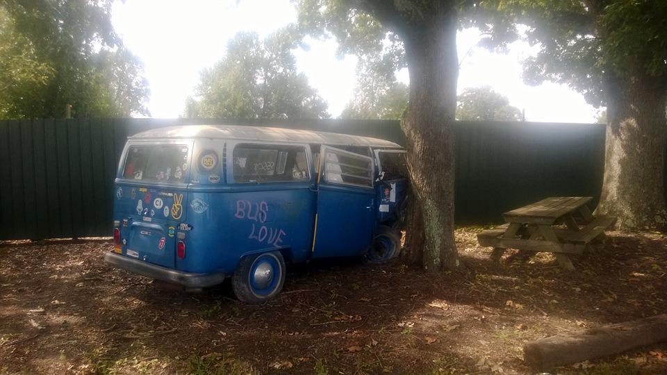 Hippie wagon had a bad day