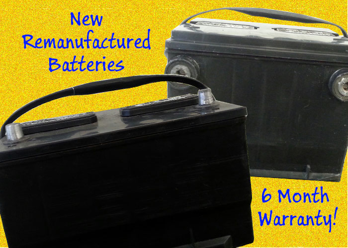 Remanufactured batteries for sale