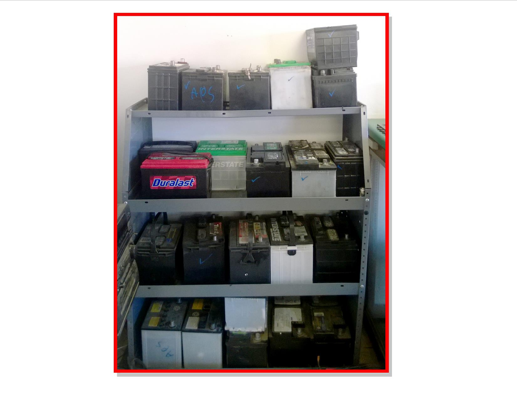 Used Batteries for Sale