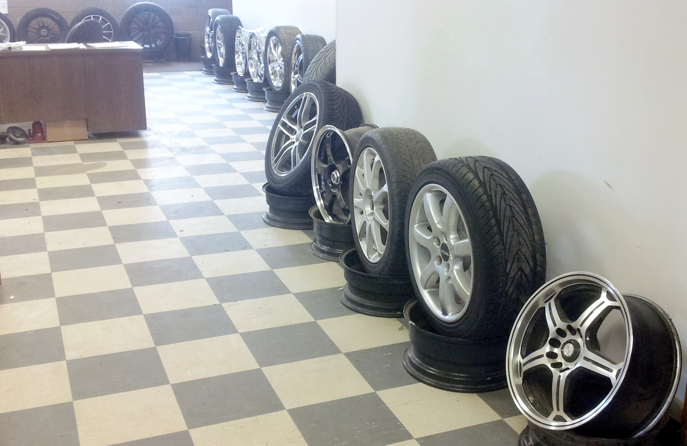 More alloy wheels