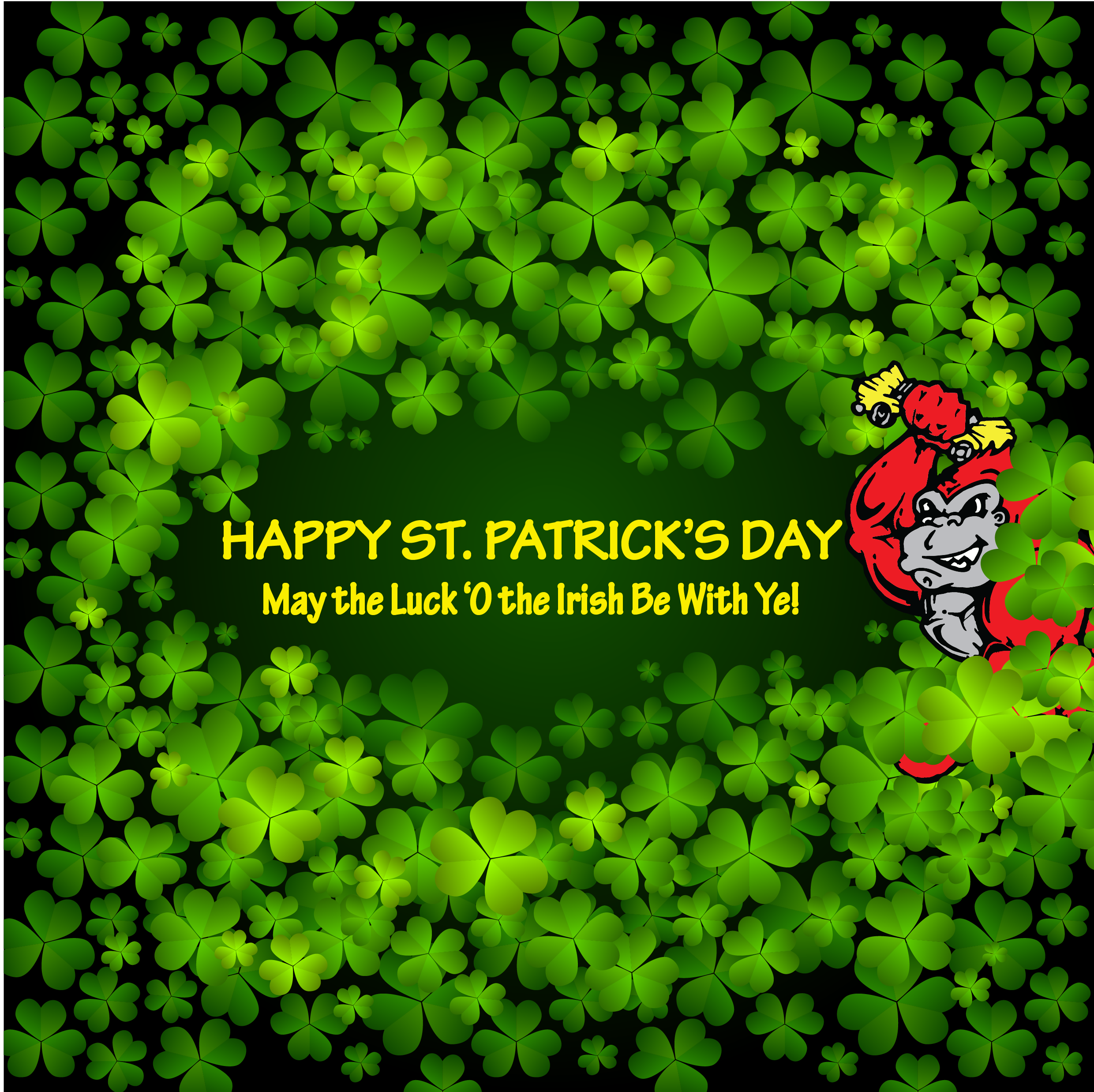 Happy St. Patrick's Day from Auto Parts of Shelby