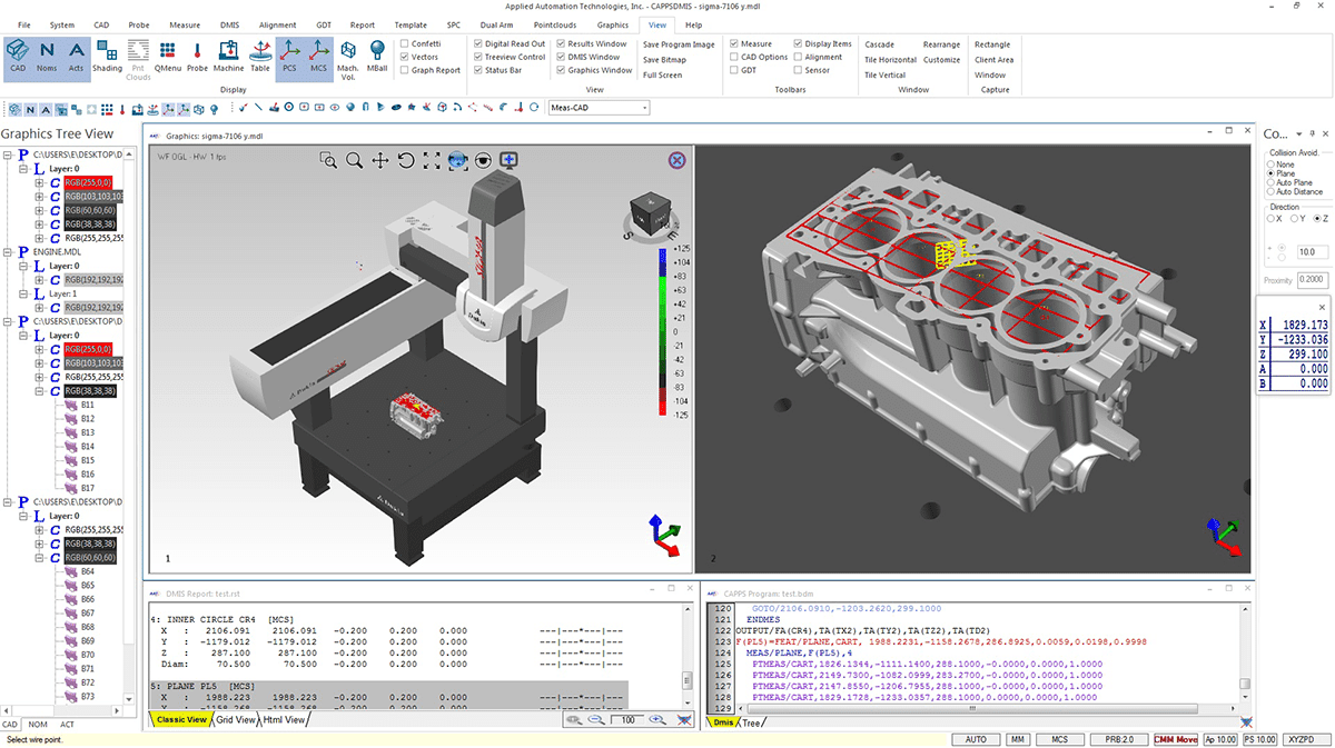 AAT CappsDMIS CMM Metrology SOftware