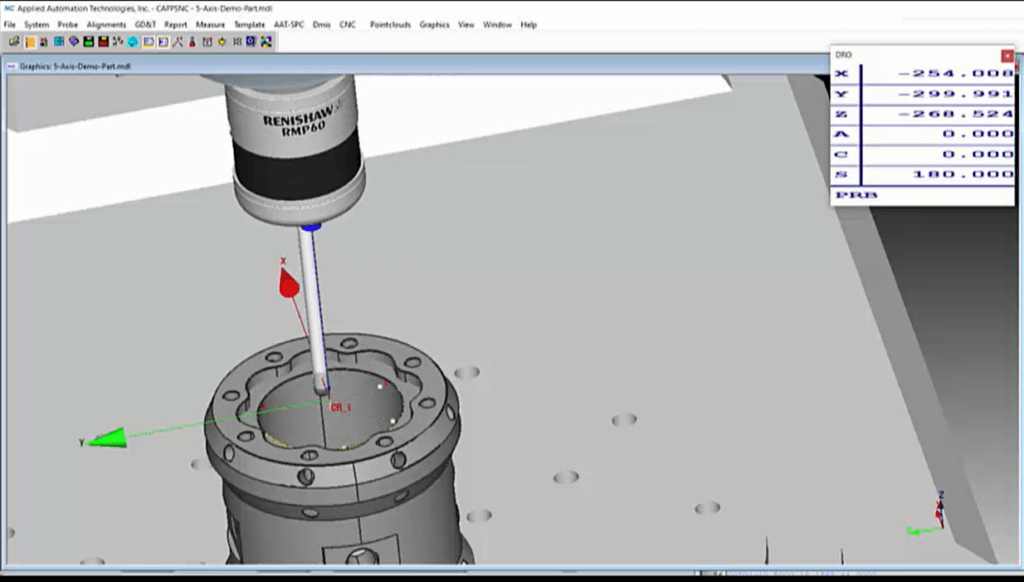 CappsNC Kinematic Probe Spindle Indexing