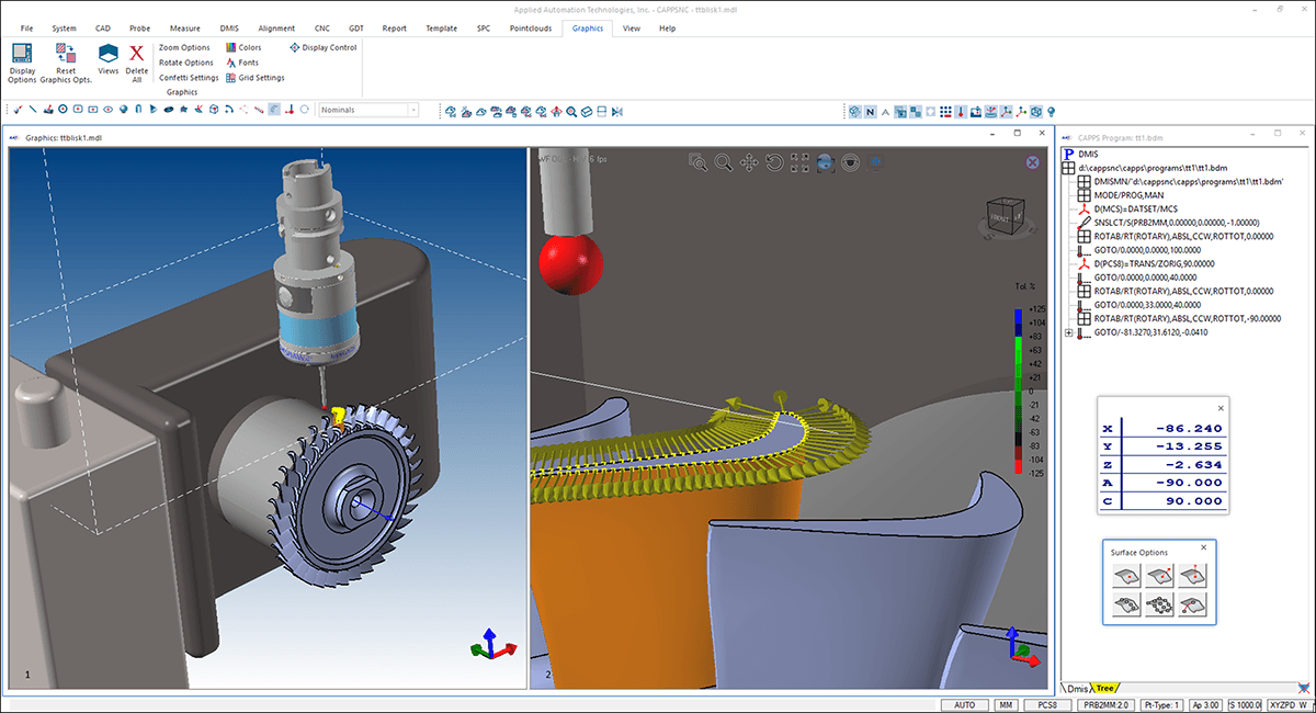 Full NC Machine Tool Integration
