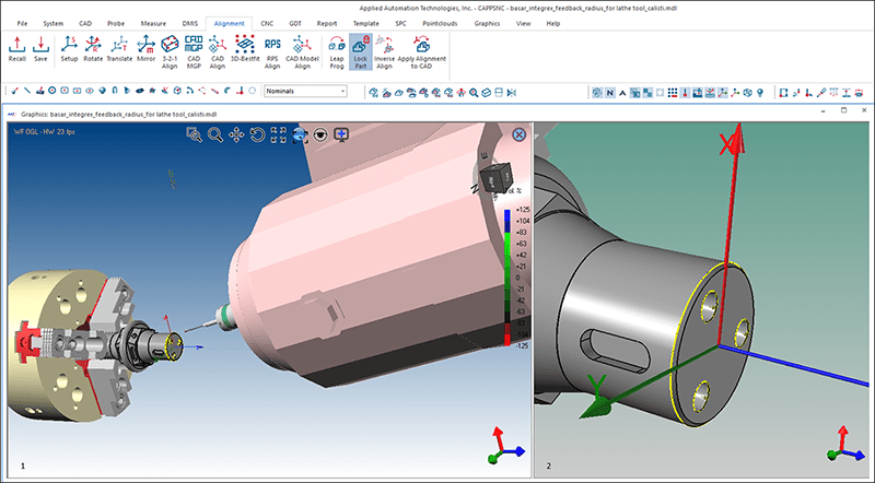 AAT CappsNC on-machine tool probing software