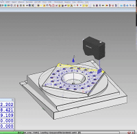 Capps Videos on-machine probing using  a blue light laser for fast scanning with high point density point clouds