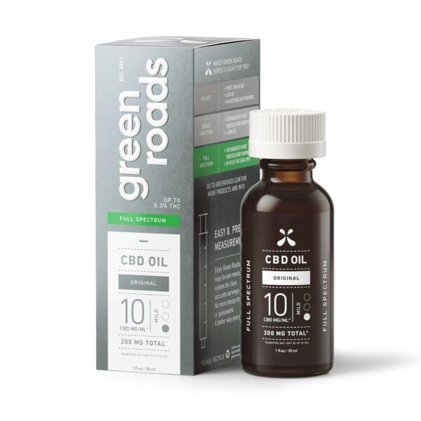 GR 300mg hemp oil tincture