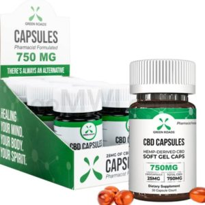 green roads cbd 25 mg per cbd capsule
