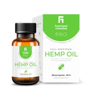 Functional Remedies Pro Hemp Capsules
