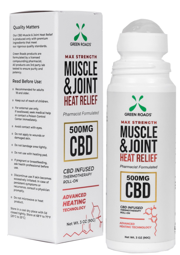 green roads 500 mg joint heat pain relief