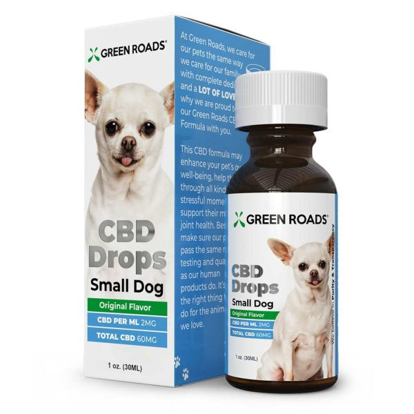 Green Road's Small Dog CBD Oil Drops