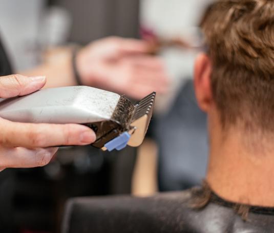 Classic Short Layered Haircut for Men