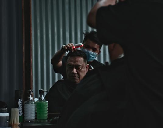 Color Correction Hair Makeover Services For Men