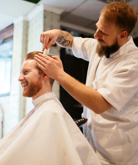 Reverse Highlights For Gray, White, Blonde & Brown Men's Hair