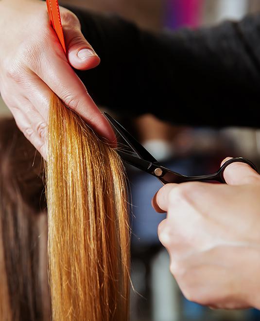 Hot Scissors haircut