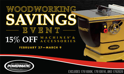 Powermatic Woodworking Sale