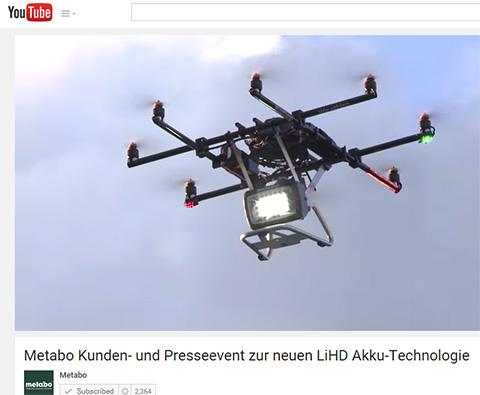 LED Lighting Drone