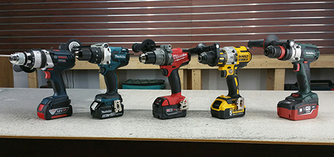 Hammer Drill Comparison 2015