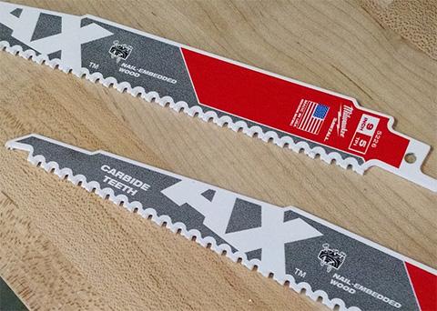 Carbide Ax Sawzall Blades