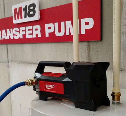 Cordless Water Transfer Pump