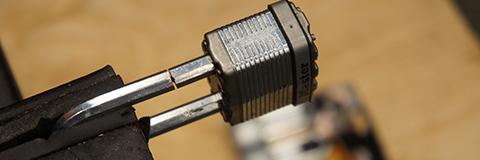 Cutting Boron Metal