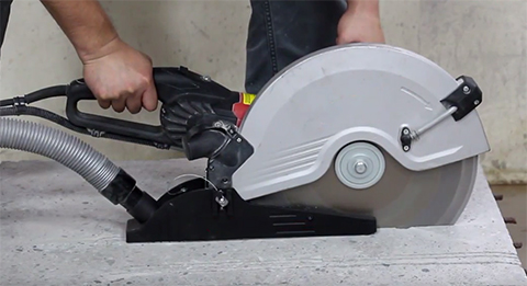 "14"" Electric Concrete Saw"