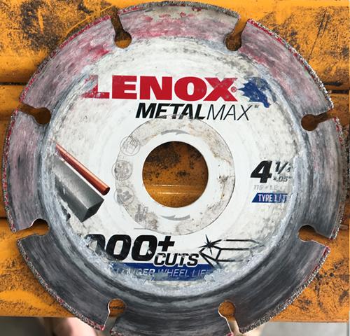 Lenox Diamond Wheel Results