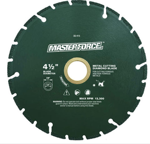 Masterforce Diamond Wheel