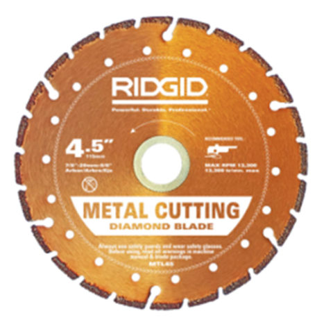 Ridgid Diamond Wheel