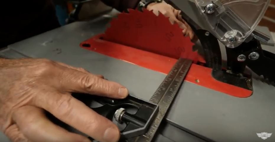 Table Saw Testing
