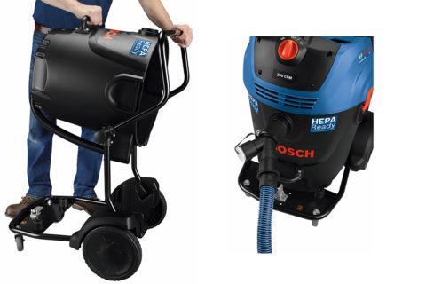 Bosch HEPA Vac 17 Gallon