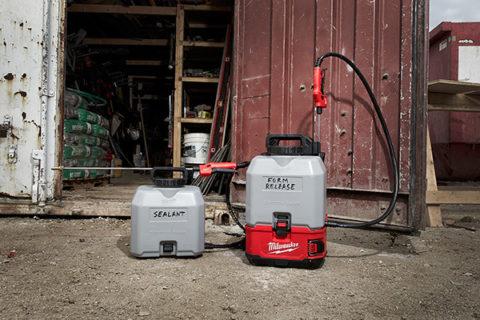 M18 Concrete Sprayer Tanks