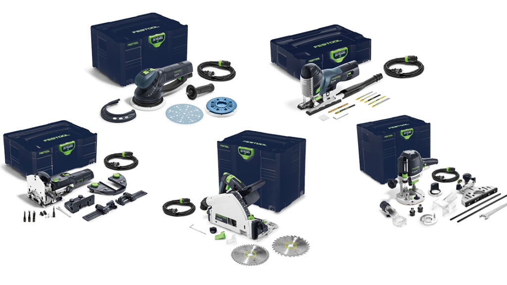 Festool Emerald Series Tools