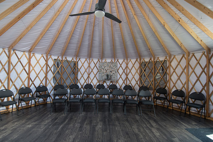rent the yurt