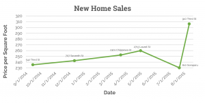 Recent New Home Sales in Irish Channel