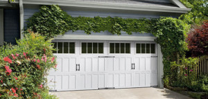 White new garage doors in London Ontario