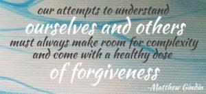 forgiveness counseling